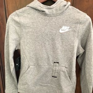 Nike boys hooded sweatshirt